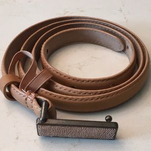 Ann Taylor Tan Leather Belt M